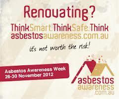 Asbestos Awareness Week: 26-30 November 2012