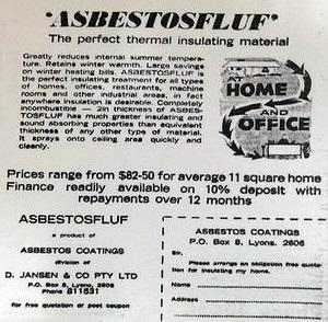 Mr Fluffy and the dangers of loose fill asbestos insulation