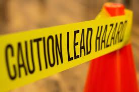 lead hazard tape
