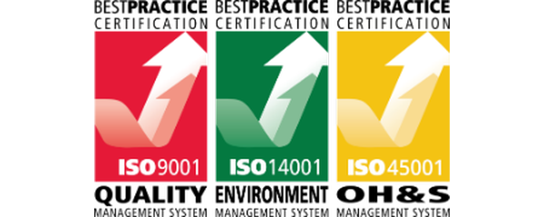 At AIRSAFE, we are always seeking ways to develop and improve as a business. That is why AIRSAFE is proud to announce that we have been certified as ISO 9001:2015, ISO 14001:2015 and ISO 45001: 2018 compliant. With these certificates, we meet international requirements for Quality Management (ISO 9001), Environmental Management (ISO 14001) and Occupational Health and Safety (ISO 45001). Over the past 12 months, AIRSAFE set itself the objective to develop an Integrated Management System for quality, environment and occupational health and safety. The certification was achieved by implementing an Integrated Management System across the company that matched the principles of each ISO standard.